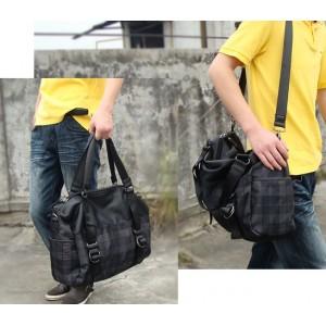 black Messenger bags for men for school