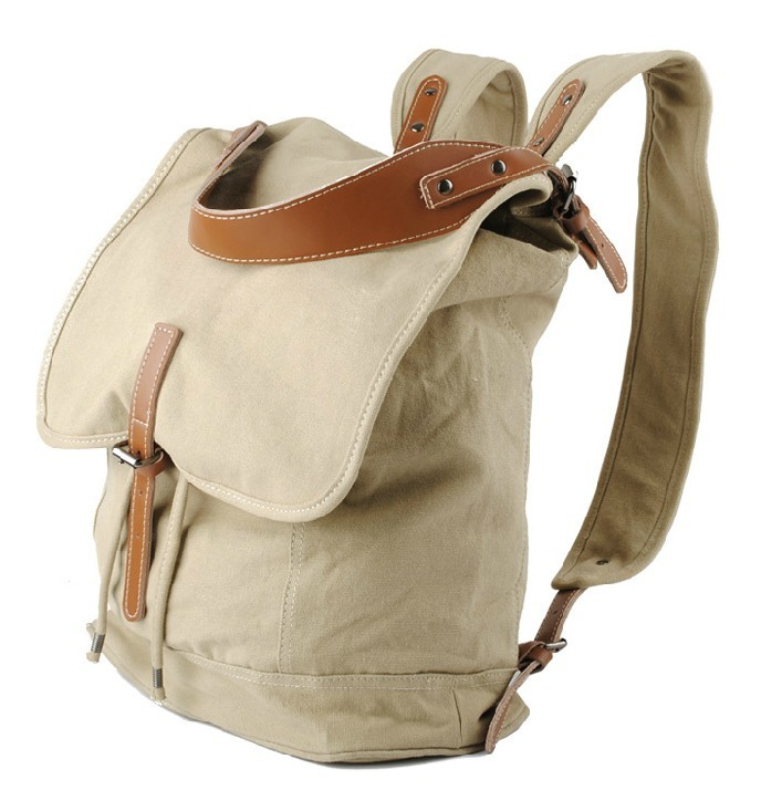 Canvas backpack purse, canvas backpacks for high school - YEPBAG