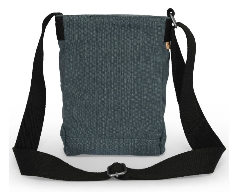 Across shoulder bag, canvas zipper bag - YEPBAG