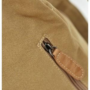 khaki personalized backpack
