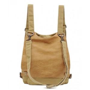 Messenger backpack canvas