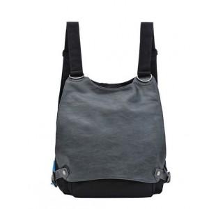 black Messenger backpack