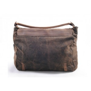 brown Messenger bags for school