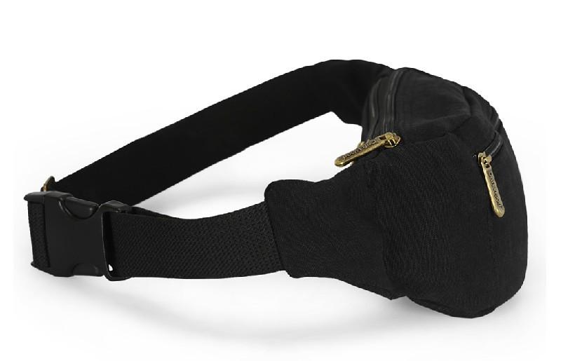 Fanny pack women, canvas waist bag