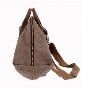 vintage canvas over the shoulder bag
