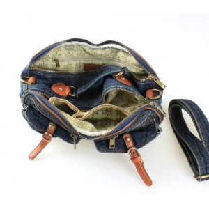 denim Cross body shoulder bag