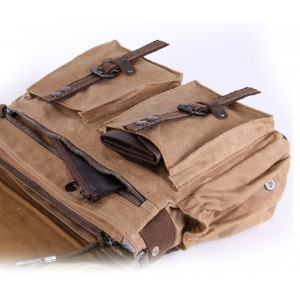 khaki Bag messenger