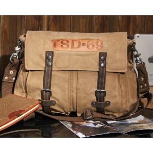 khaki side shoulder bag