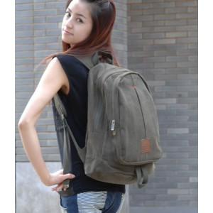 womens european canvas rucksack