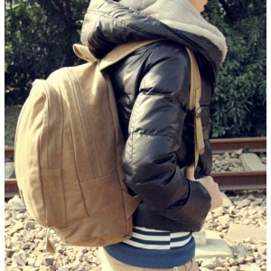 european canvas rucksack for men