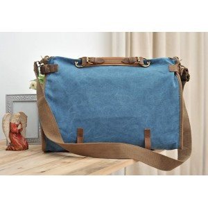 blue urban messenger bag