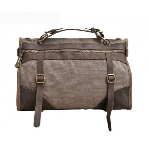 coffee Canvas shoulder bags for men