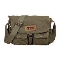 Military canvas messenger bags for men, distressed messenger bag