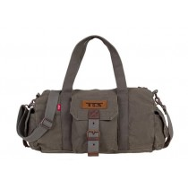 Big handbag, cotton canvas shoulder bag