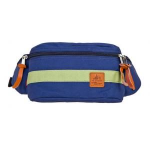 blue fanny pack for men