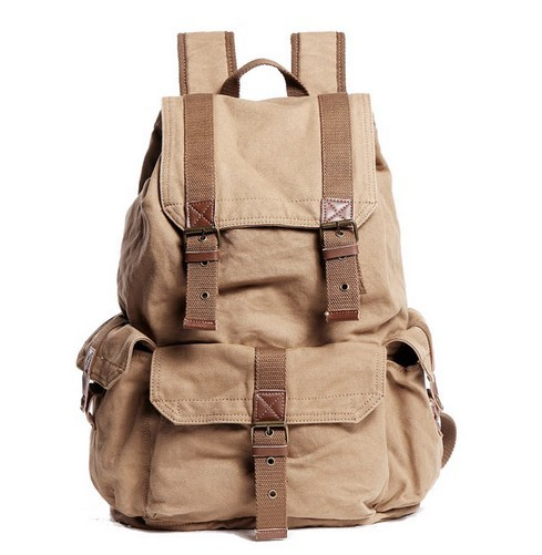 Fashionable canvas backpacks for women, quality backpack - YEPBAG
