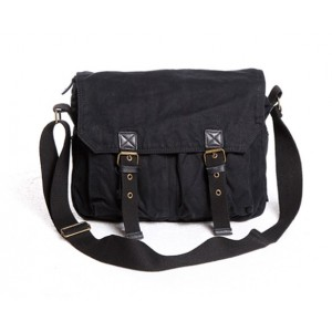 black Cross shoulder bags men