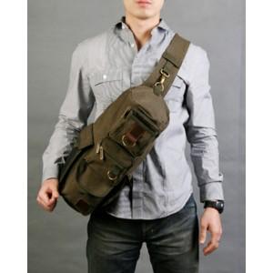 One shoulder bag for men
