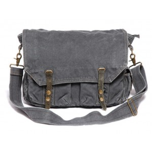 Crossbody bags, military canvas satchels