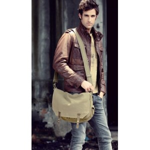 mens military canvas satchels
