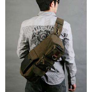 over shoulder backpack for men