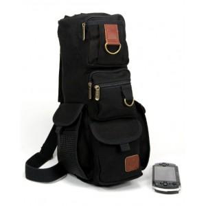 black One shoulder bag