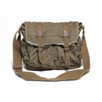 Canvas shoulder bag schoolbag, big over the shoulder bag