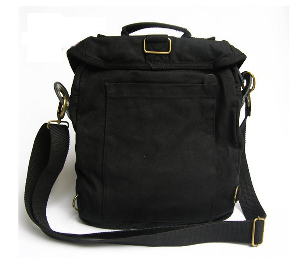 Mens vintage canvas backpack, men s messenger bag canvas - YEPBAG