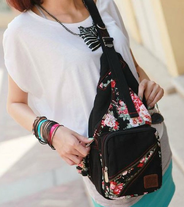 ... new school backpack  womens One strap back pack ... 2873146cbf