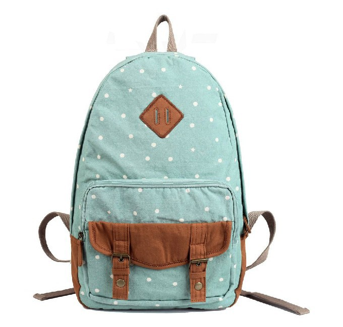 Canvas backpack purses women, school bag - YEPBAG