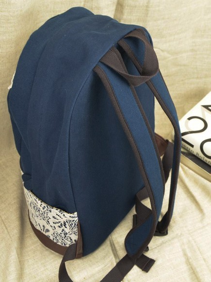 Canvas backpack for teenage girls, cute canvas backpacks for school