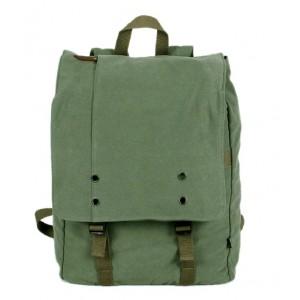Canvas computer backpack for men