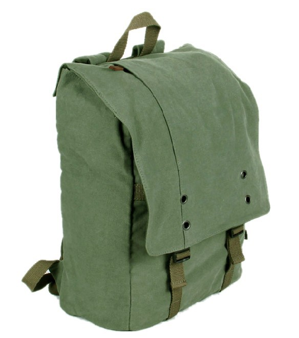Canvas computer backpack for men, backpack for 15 inch laptop - YEPBAG