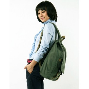 womens Canvas computer backpack