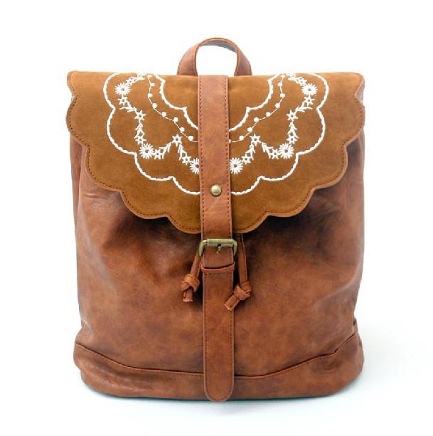 Small PU backpack, backpack school