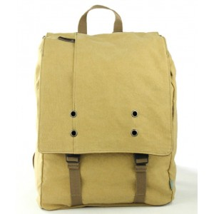 Canvas computer backpack for men, backpack for 15 inch laptop