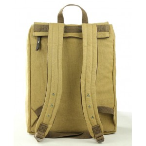 khaki backpack for 15 inch laptop
