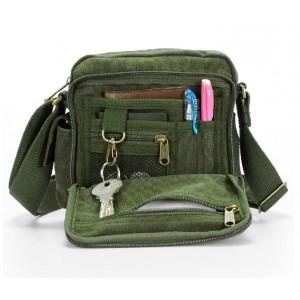 army green Crossbody messenger bags