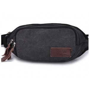 black Hip fanny pack