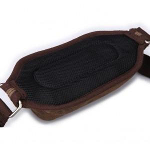 black stylish fanny pack