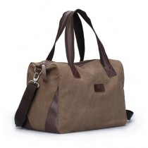 Weekend bags for men, mens canvas messenger bag