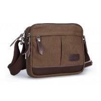 Fabric messenger bag, lightweight shoulder bag