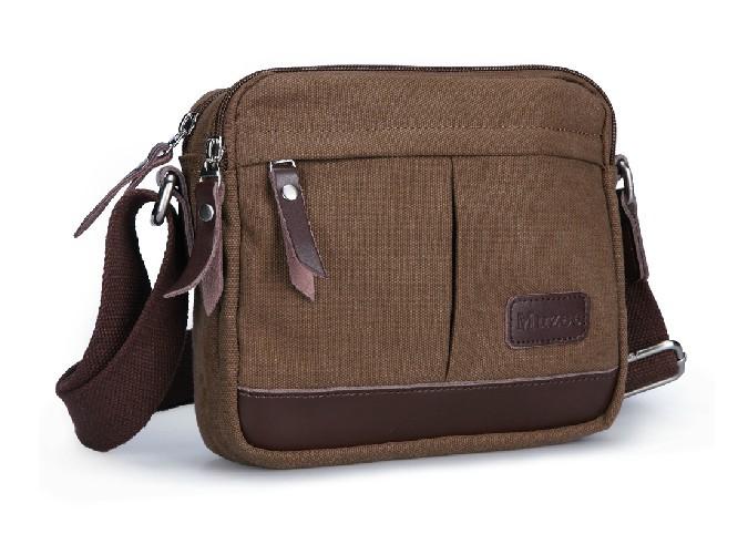 Fabric messenger bag, lightweight shoulder bag - YEPBAG