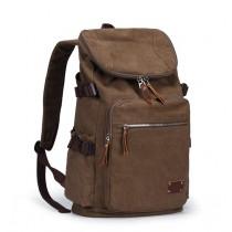 Canvas rucksack, vintage canvas backpack