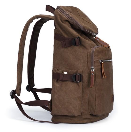 canvas rucksack vintage canvas backpack yepbag. Black Bedroom Furniture Sets. Home Design Ideas
