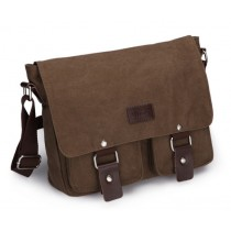 Shoulder book bag, canvas messenger bags for men
