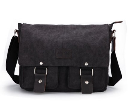 Shoulder book bag, canvas messenger bags for men - YEPBAG