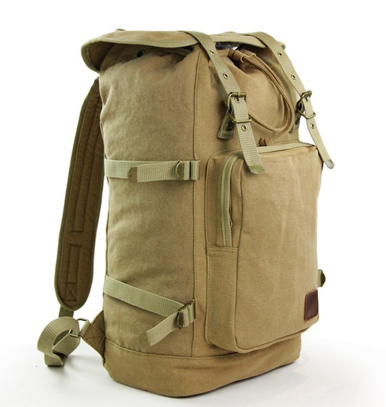 Canvas knapsacks backpacks, canvas backpacks for men - YEPBAG