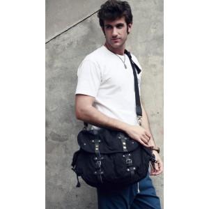 black messenger bags for men