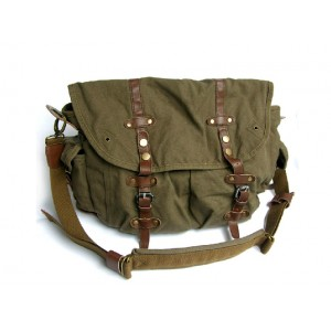 army green messenger bags for men